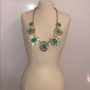 Kate Spade Gold and Green Necklace